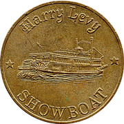Token - Harry Levy Showboat (J) – obverse