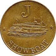 Token - Harry Levy Showboat (J) – reverse