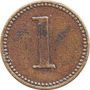 1 Penny - Allwin Token – reverse