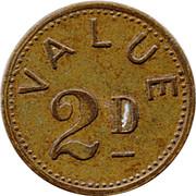 2 Pence - Bajazzo – reverse