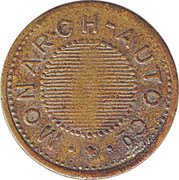 4 Pence - Monarch Automatic Co. – obverse