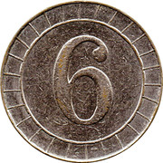 6 Pence - R&W – reverse