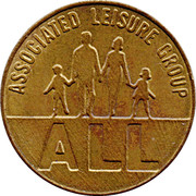 6 Pence - Associated Leisure Group – obverse