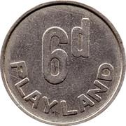 6 Pence - Playland -  obverse