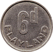 6 Pence - Playland -  reverse
