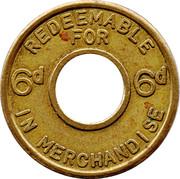6 Pence – obverse