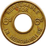6 Pence – reverse