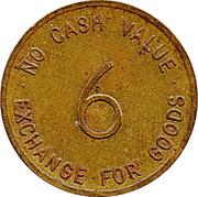 6 Pence - Aristocrat – reverse
