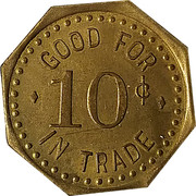 10 Cents - Rugby Bar – reverse
