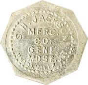 5 Cents - S. H. Jackson (Unionville, Missouri) – obverse