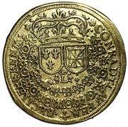 Counter Token - Louis XIII (Conrad Lauffer; Nuremberg) – reverse