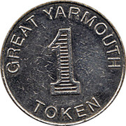1 Token - Bottons Pleasure Beach (Great Yarmouth) – reverse