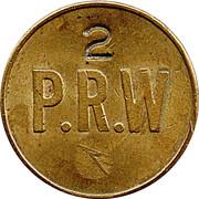 Token - P.R.W (2) – obverse