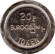 20 Pence - Eurocoin Token (Associated Leisure) – reverse