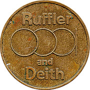20 Pence - Ruffler and Deith – obverse