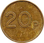20 Pence - Ruffler and Deith – reverse