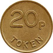 20 Pence Token - Peter Simper – reverse