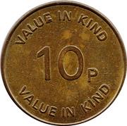 10 Pence - RVS – reverse