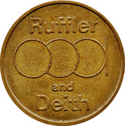 10 Pence - Ruffler and Deith – obverse