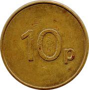 10 Pence - Ruffler and Deith – reverse
