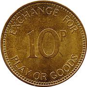 10 Pence - Medallion Brenco – reverse