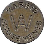 10 Pence - Warbys Amusements – obverse