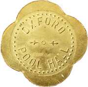 12 ½ Cents - Oxford Pool Hall – obverse