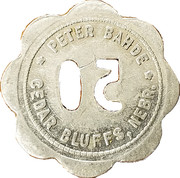 50 Cents - Peter Bahde – obverse