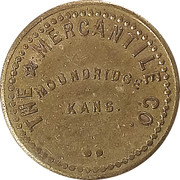 5 Cents - The Mercantile Co. – obverse