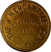 10 Cents - The Mercantile Co. – obverse