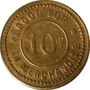 10 Cents - The Mercantile Co. – reverse
