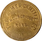 25 Cents - The Mercantile Co. – obverse