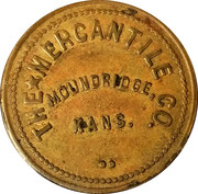 50 Cents - The Mercantile Co. – obverse