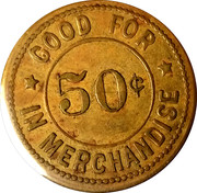 50 Cents - The Mercantile Co. – reverse