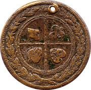 Medallion - Victoria – reverse
