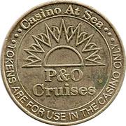 Casino Token - P&O Cruises – obverse