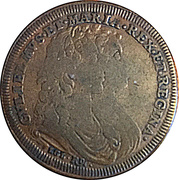 Counter/Jeton William and Mary – obverse