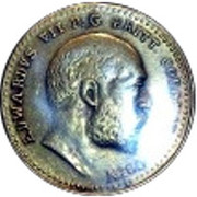 Token - ½ Sovereign Edward VII – obverse