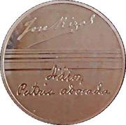 Token - Jose Rizal (150th Birth Anniversary) – reverse