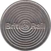 Parking Token - British Rail – obverse