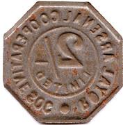 2 Shillings - Royal Arsenal Cooperative Soc Limited – reverse