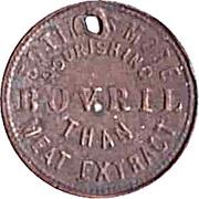 Token - Bovril Meat Extract – reverse