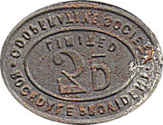 3 Pence - Rochdale Provident Cooperative Society – reverse