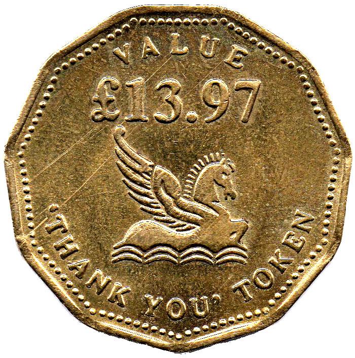thank you token coin