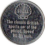 Token - Shell (Bentley 4½ - Litre 1928) – reverse