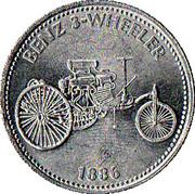 Token - Shell (Benz 3-Wheeler 1886) – obverse