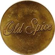 Token - Old Spice (Ship Friendship) – obverse