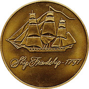 Token - Old Spice (Ship Friendship) – reverse