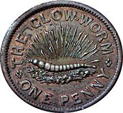 1 Penny - The glow-worm – obverse