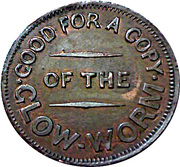 1 Penny - The glow-worm – reverse